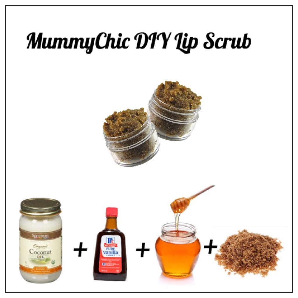 MC DIY Lip Scrub